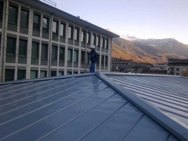 Work at the Palace Aosta Regional
